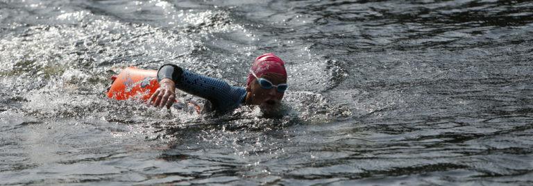 Open water swimmer