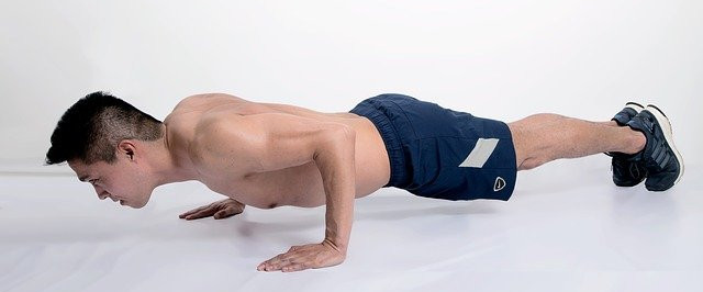 Correct Push up Position